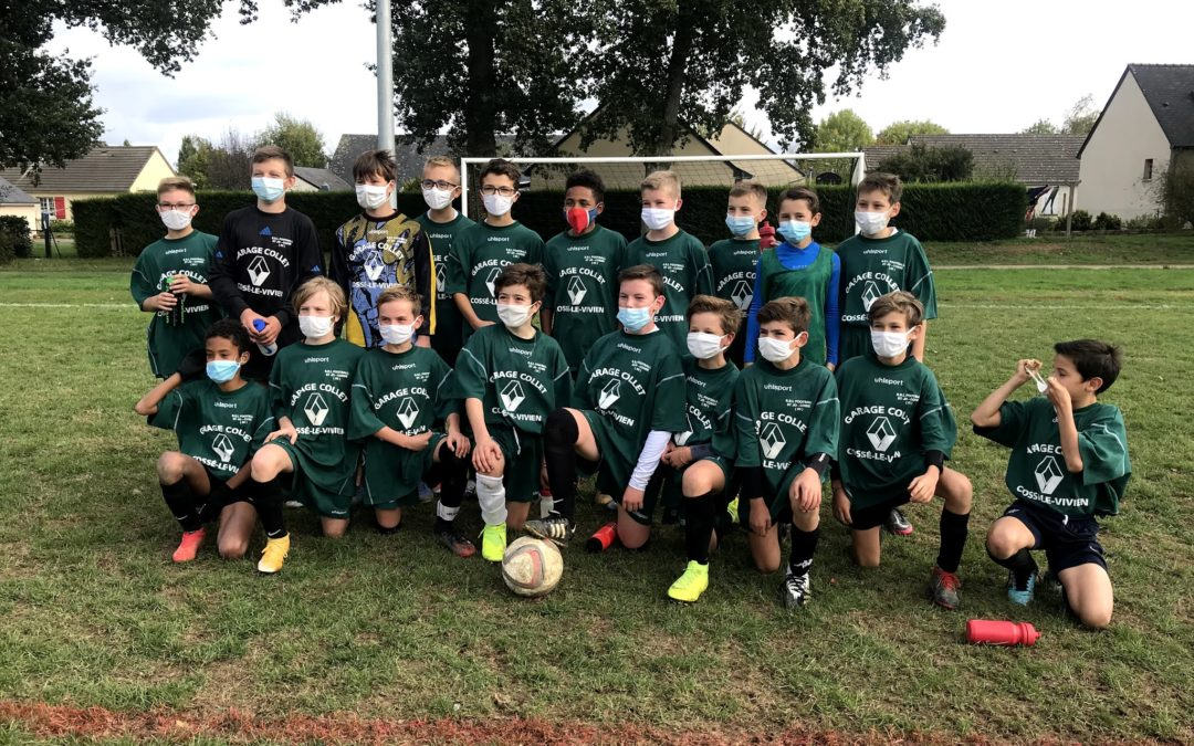 Football Benjamins – Meslay du Maine
