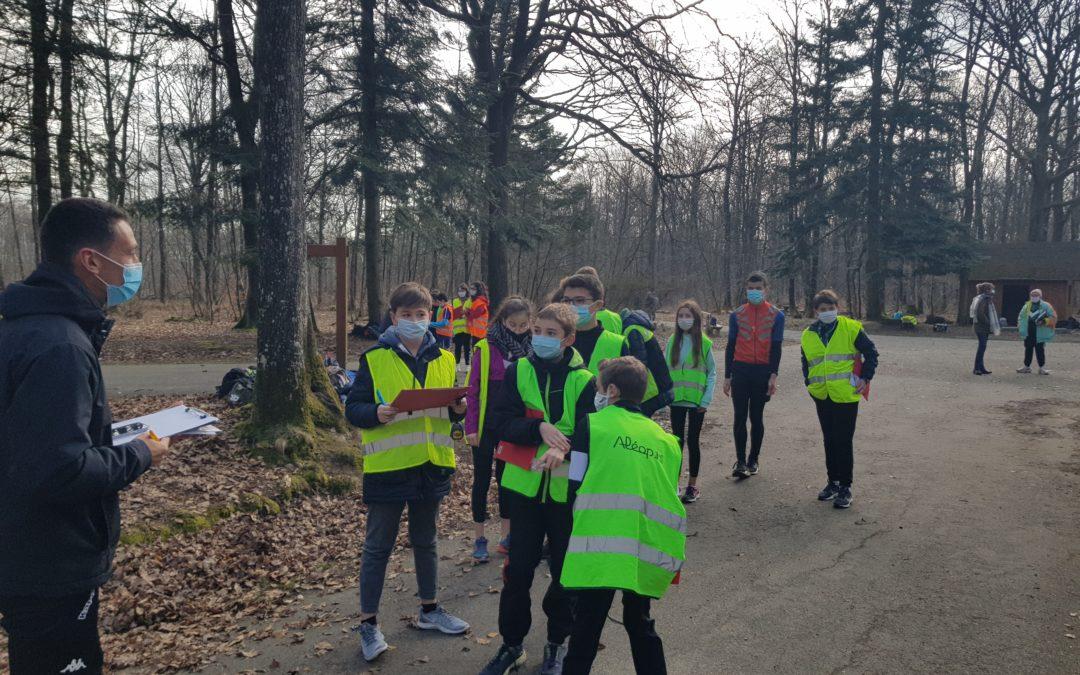 Course d'Orientation 5ème au bois de l'Huisserie