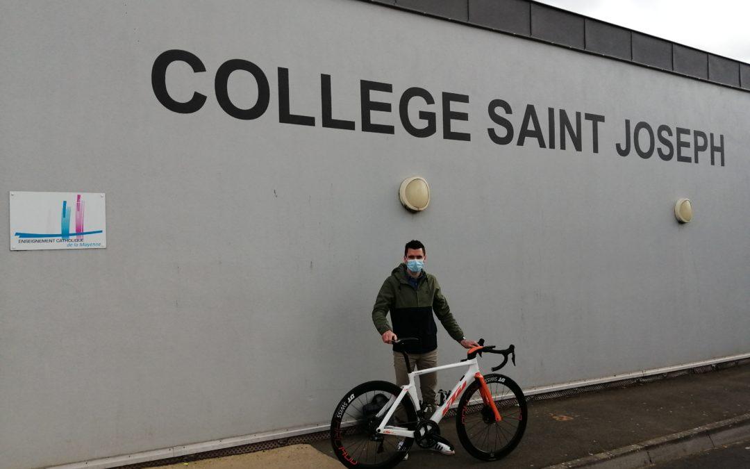 Venue d'Arnaud Courteille, ancien cycliste professionnel