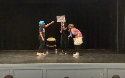 Représentations finales des ateliers théâtre, théâtre en anglais et chorale