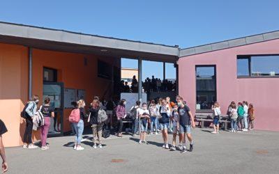 C'est la reprise à St Jo pour nos élèves !