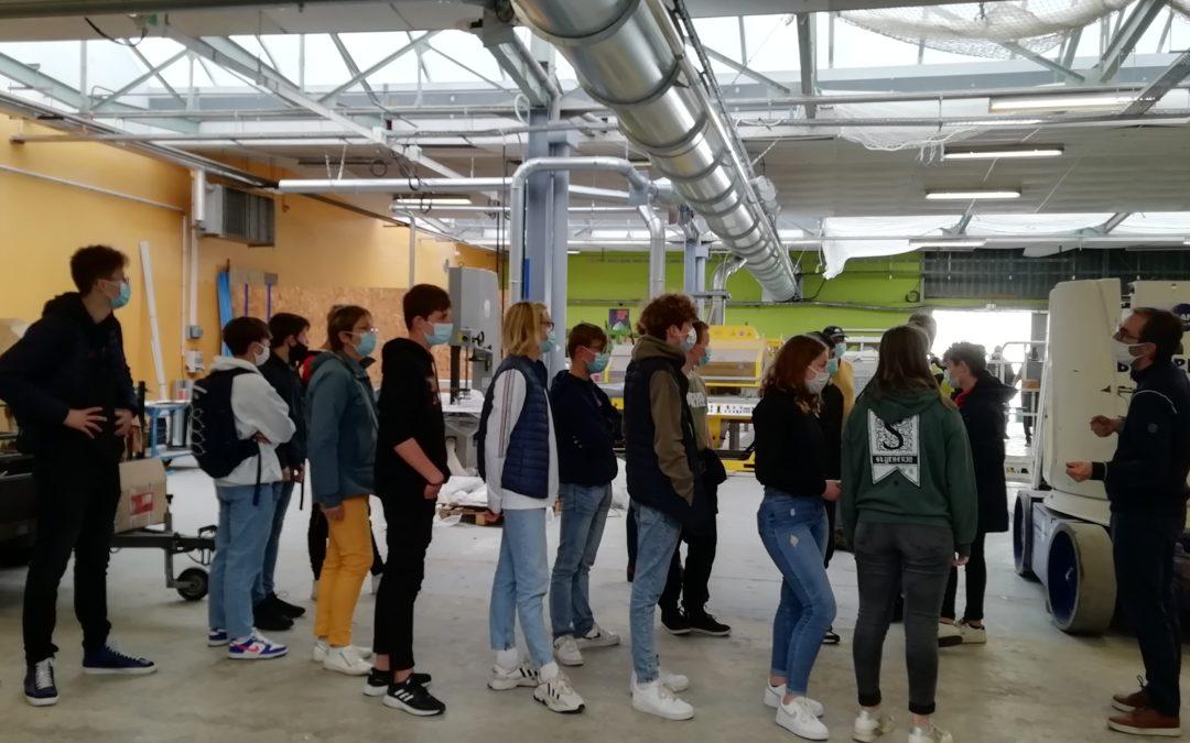 Visite au lycée Gaston Lesnard de Laval – Sortie Acc Pro 3è
